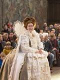 2017 As Queen Elizabeth I in 'An Elizabethan Christmas' at Hampton Court Palace · By: Oli Crump