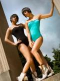 Nathalie and Jeannine Desmier