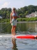 Paddle boarding · By: Dana Rogers